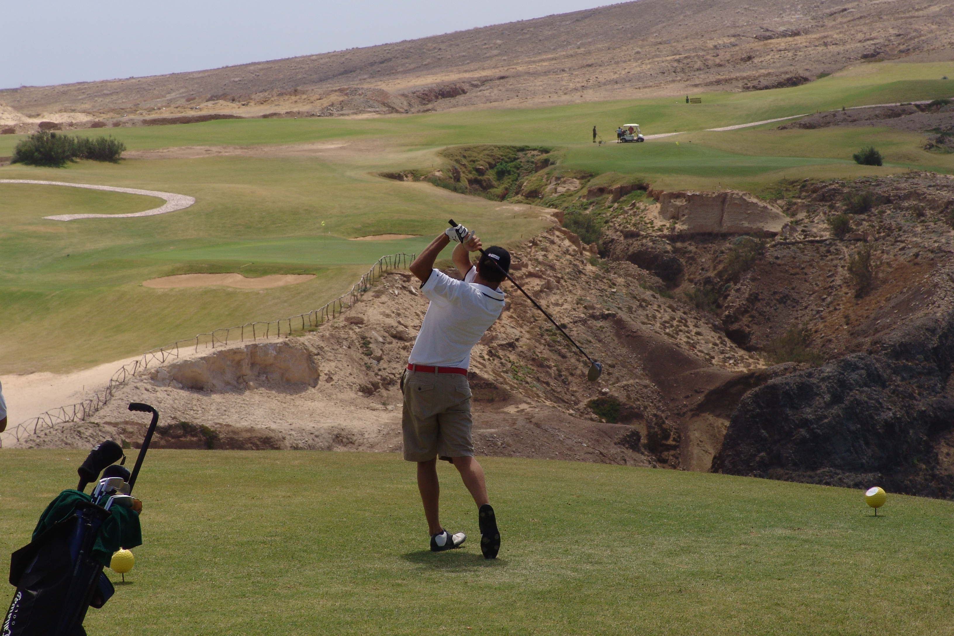 Uma centena de golfistas celebra os 600 anos, no Porto Santo