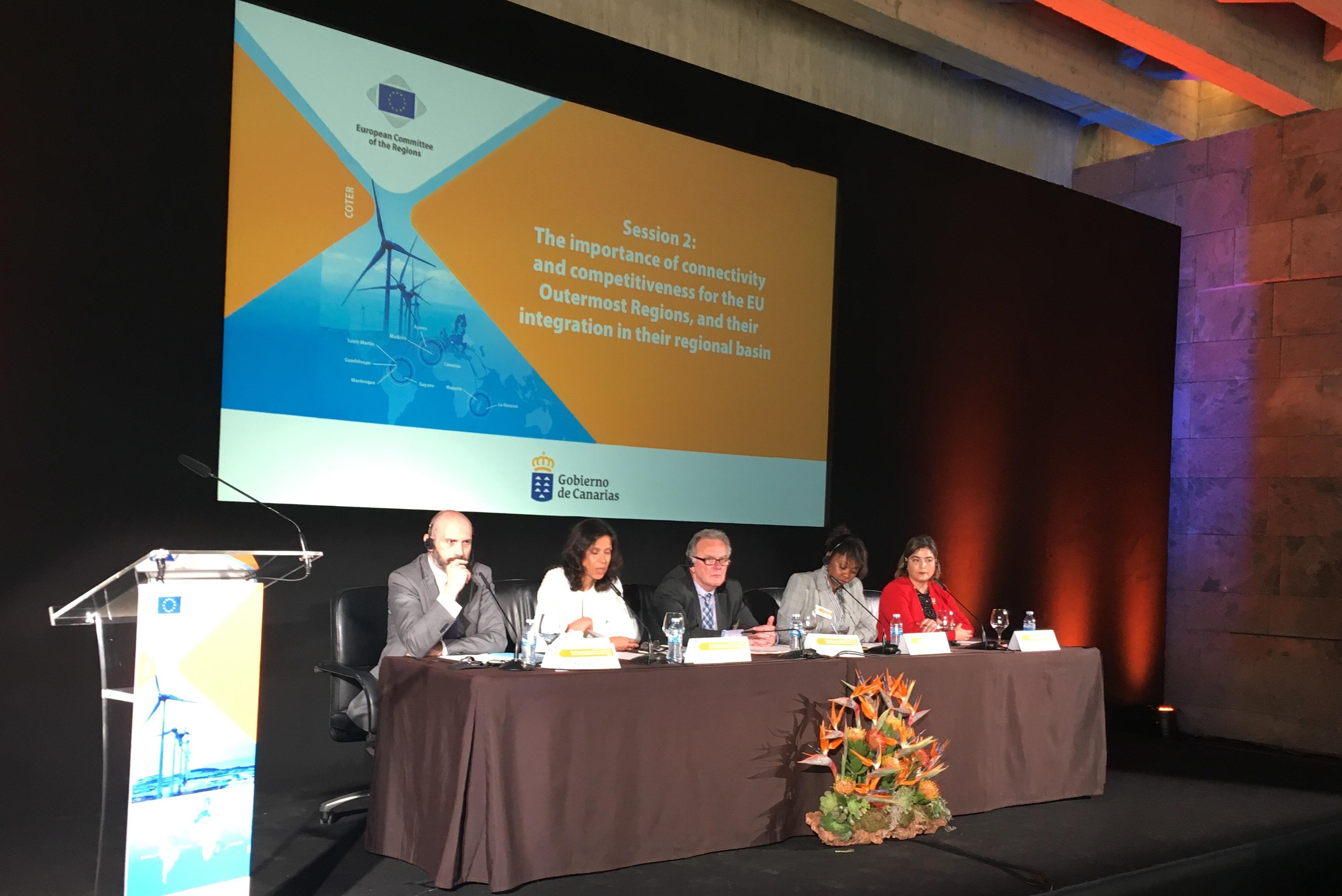 Região defende apoios europeus para a ampliação do Porto do Funchal