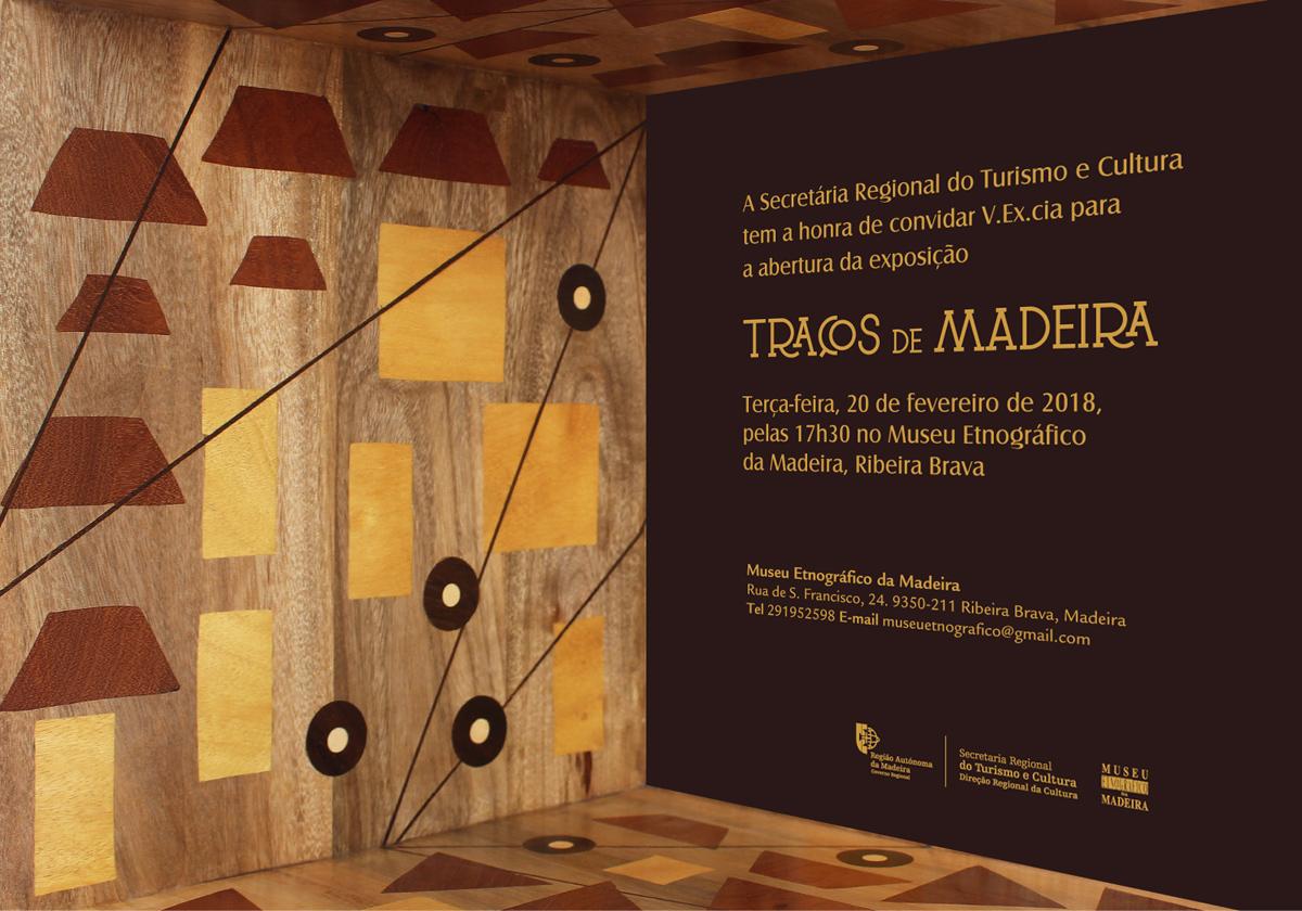 """Museu Etnográfico acolhe Exposição """"Traços de Madeira"""""""