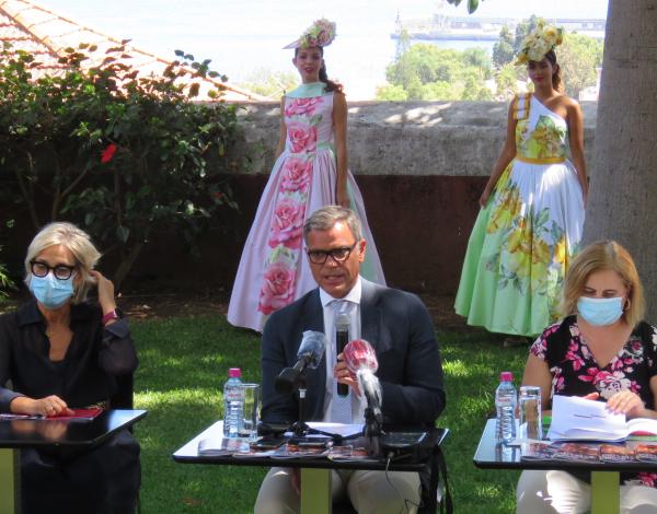 Eduardo Jesus apresenta programa da Festa da Flor e do Vinho Madeira 2020