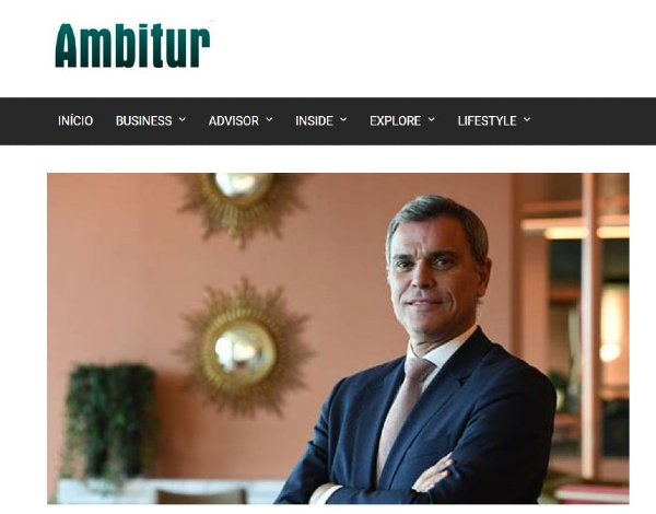 "Eduardo Jesus ""Conselheiro Ambitur"" aborda futuro do turismo nacional"