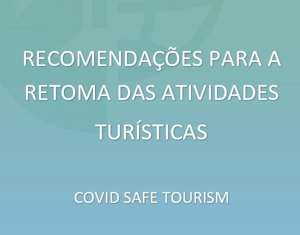Governo Regional inova com recomendações através do 'Covid Safe Tourism'