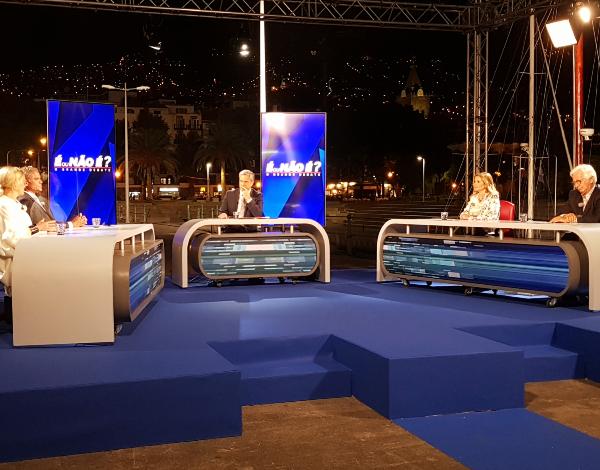 """Eduardo Jesus entrevistado no programa da RTP 1 """"É ou Não é"""""""