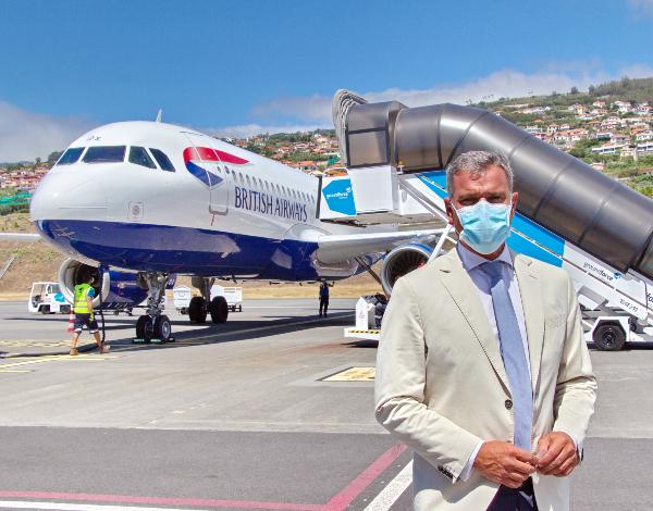 Governo Regional criou Observatório do Transporte Aéreo