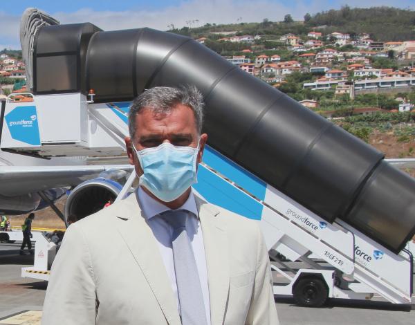 Eduardo Jesus releva importância do início da operação da 'SWISS' para a Madeira