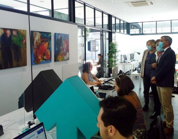 Eduardo Jesus releva exposições no Centro Cultural John Dos Passos