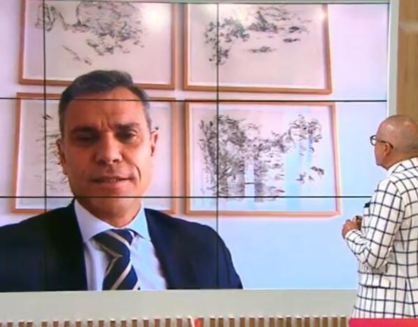 Eduardo Jesus releva potencialidades do Porto Santo na TVI