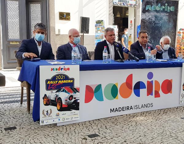 Secretário do Turismo diz que o Rally Madeira Legend preenche uma lacuna