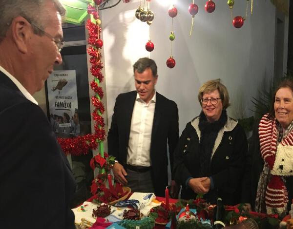 Mercadinho de Natal do Porto Santo com grande afluência do público