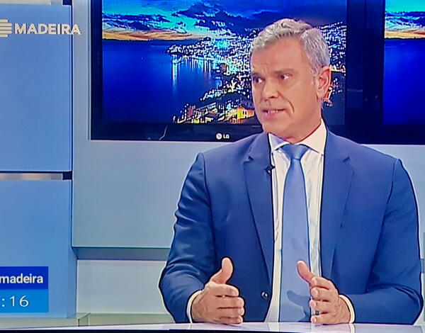 Eduardo Jesus revela na RTP-M que já há procura pelo destino