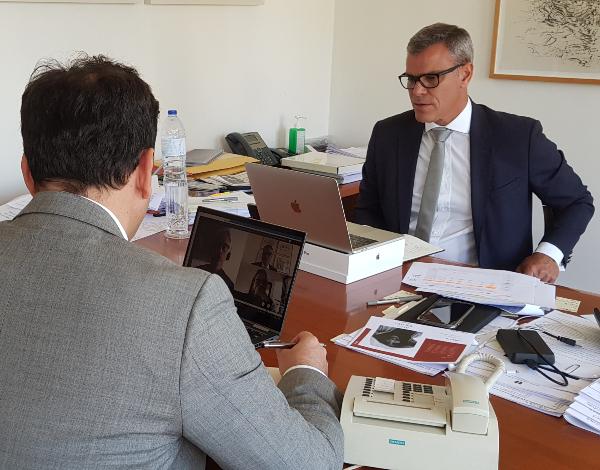 Secretário Regional reuniu com a Administração da TAP