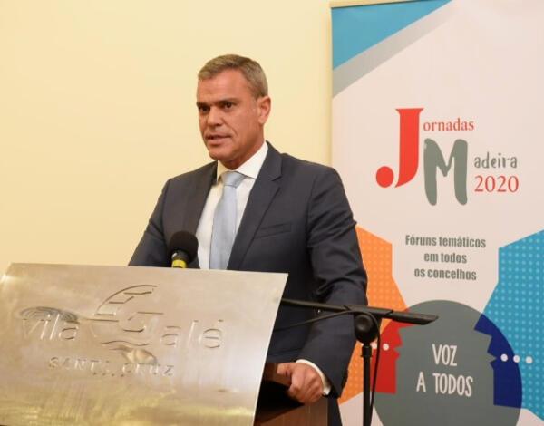 Secretário Regional foi orador nas Jornadas Madeira 2020 do JM