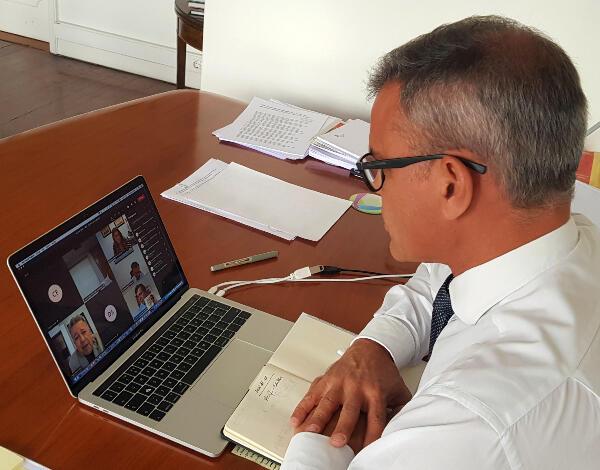 Governo Regional reúne com ACIF - Câmara de Comércio e Indústria da Madeira