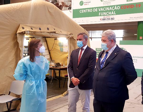 Secretário Regional acompanha vacinação ao setor do Turismo