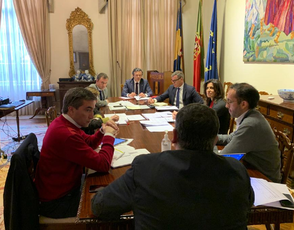 Governo Regional estuda formas de apoio ao tecido económico empresarial
