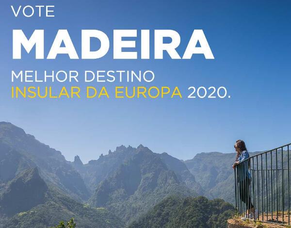 Nomeação para 'Melhor destino Insular da Europa' é uma oportunidade para o posicionamento como destino seguro