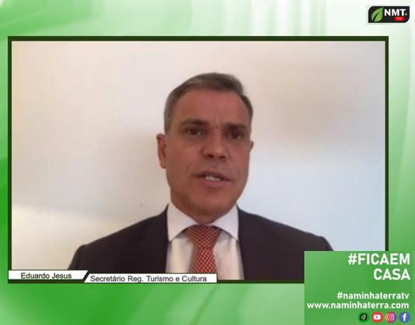 Eduardo Jesus entrevistado no canal 'Naminhaterra'