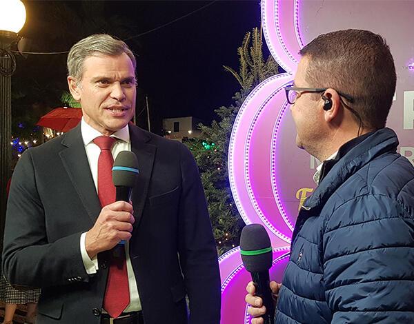 """Secretário Regional fala do Natal no """"Festa é Festa"""""""