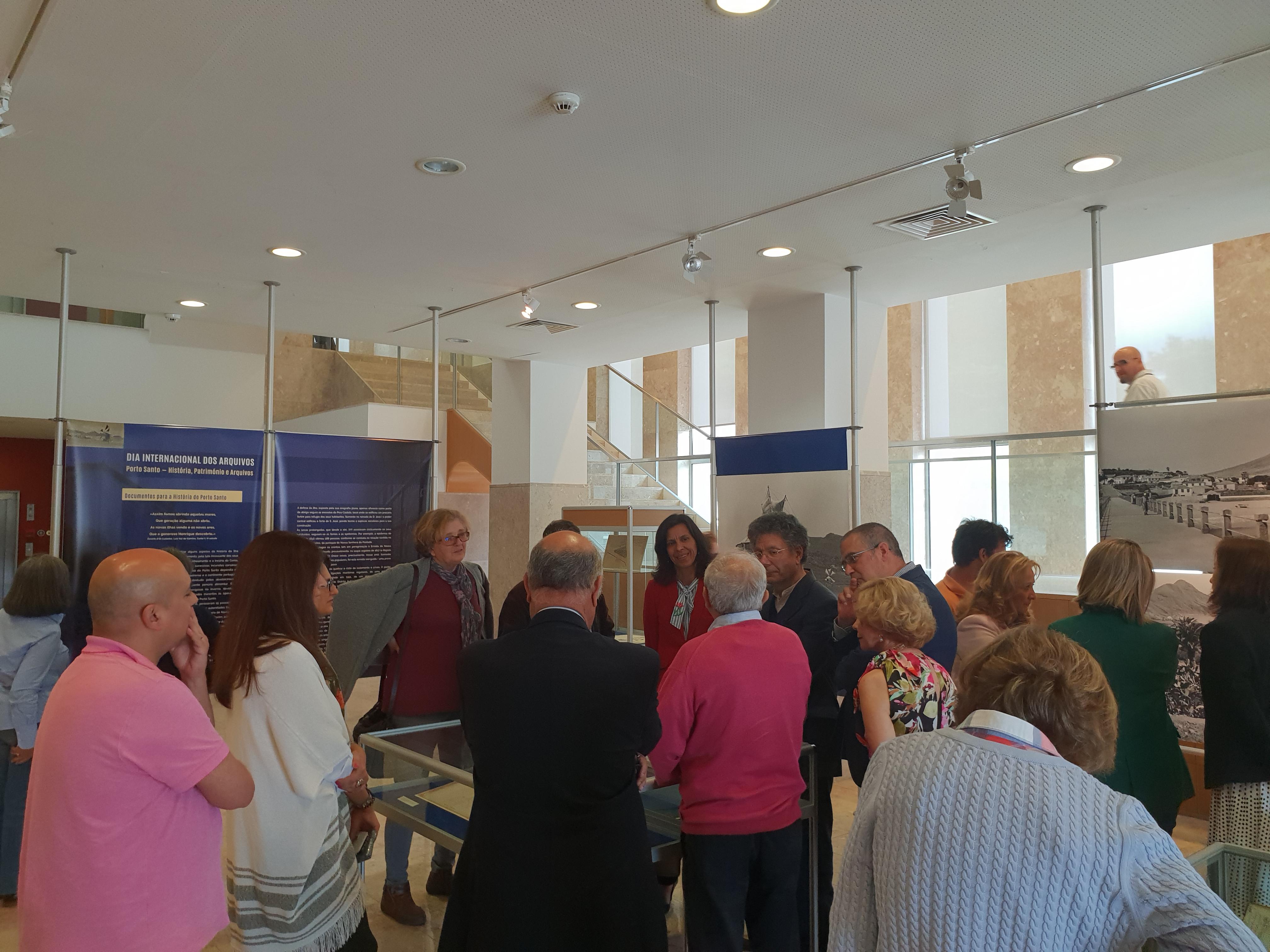 Dia Internacional dos Arquivos: Porto Santo, História, Património e Arquivos