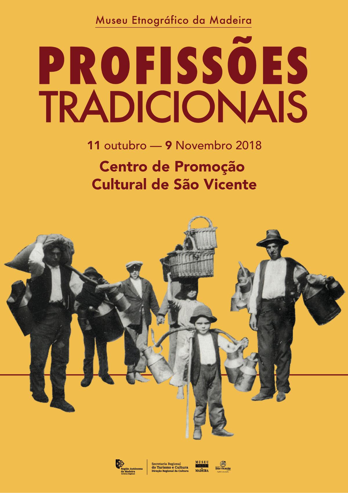 """Museu Etnográfico da Madeira expõe """"Profissões Tradicionais"""" no Centro de Promoção Cultural de São Vicente"""