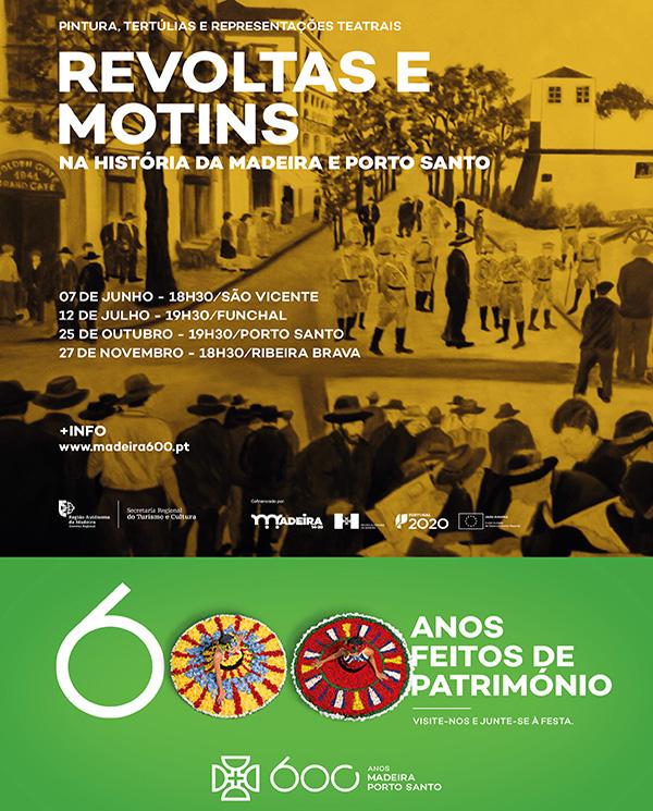 Revoltas e Motins na História da Madeira e do Porto Santo