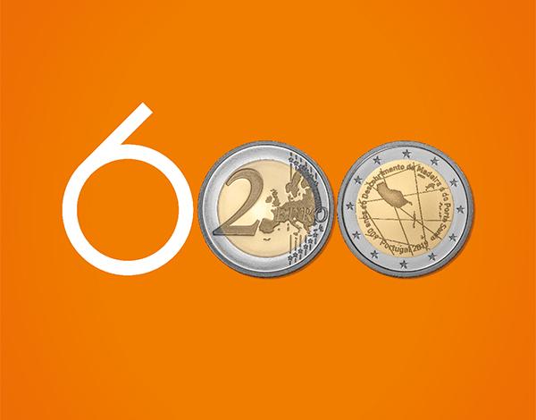 Apresentação da moeda comemorativa dos 600 Anos do Descobrimento das Ilhas da Madeira e Porto Santo