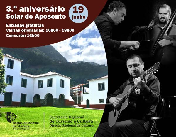 """Concerto """"The American Hand Book"""" no Solar do Aposento, concelho de São Vicente"""