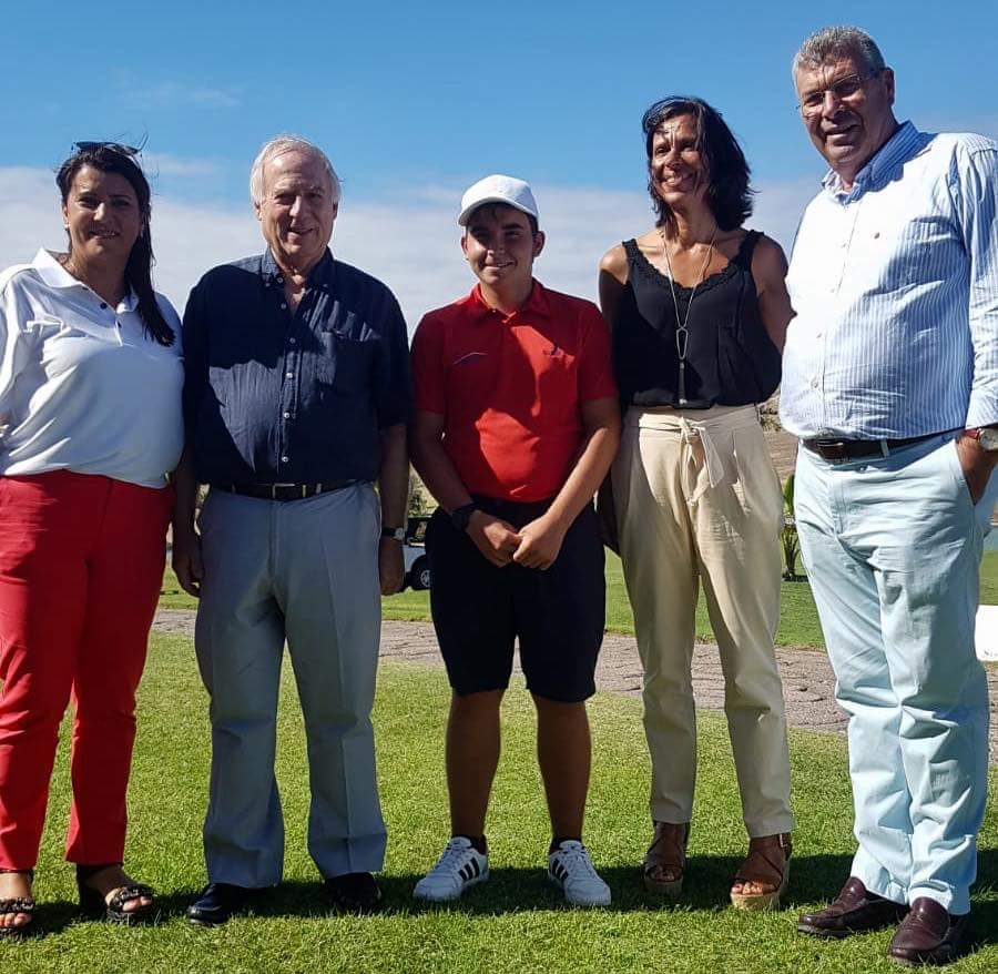 """Jovem porto-santense ganha 1a Edição do Torneio """"Colombo's Golf Trophy – 600 Anos da Madeira e Porto Santo"""