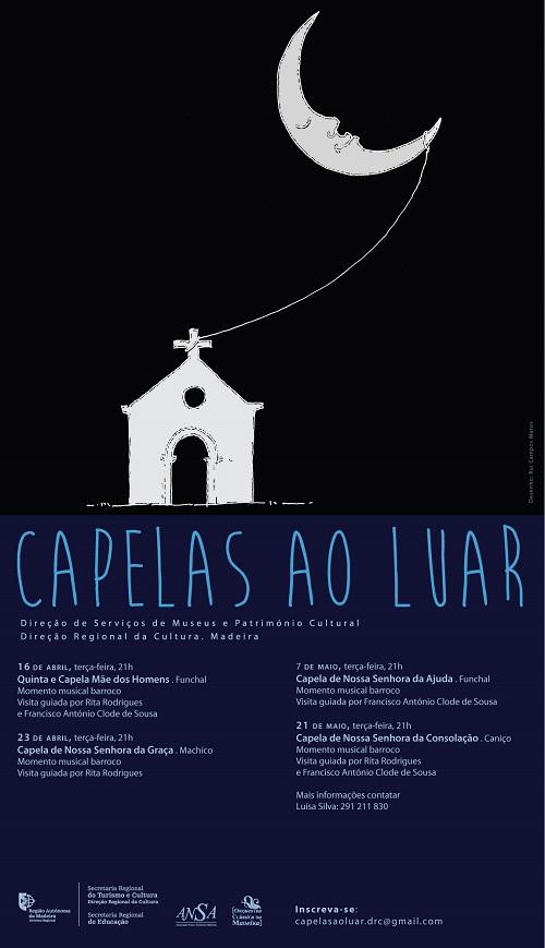 """IV Edição do projeto """" Capelas ao Luar"""" arranca a 16 de abril"""