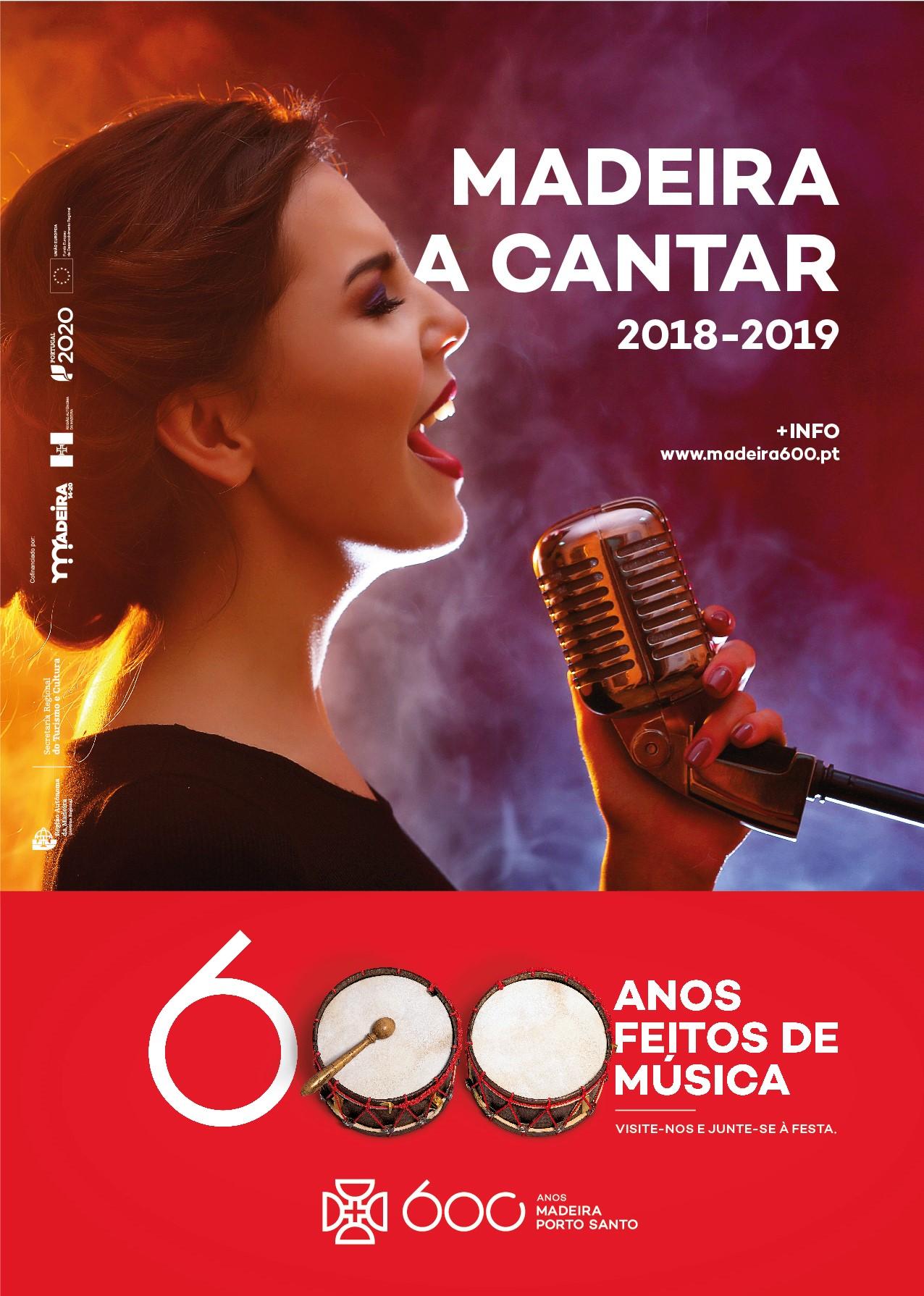 """7º Finalista do """" Madeira a Cantar"""" escolhido neste sábado, dia 10 de novembro, em Cãmara de Lobos"""