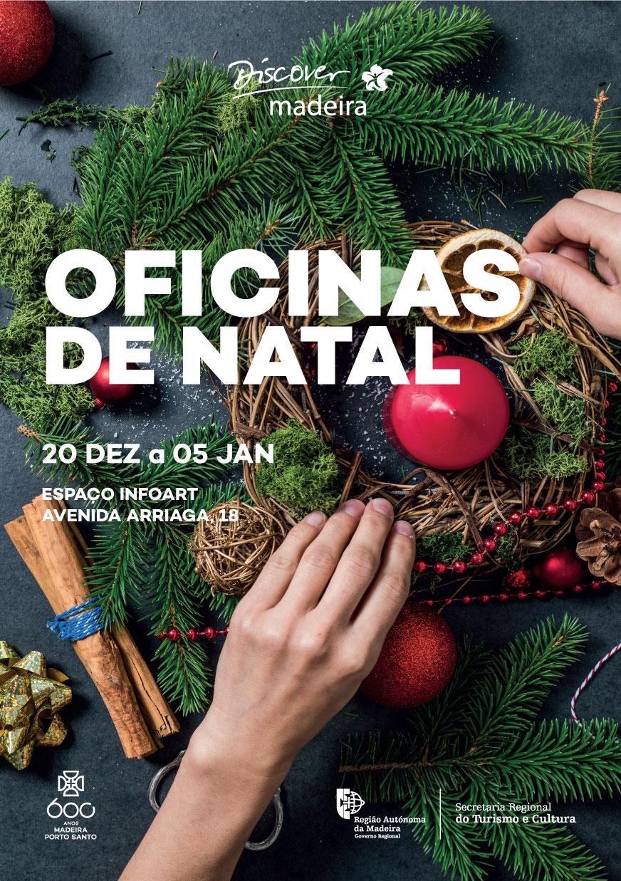 """""""Oficinas de Natal"""" arrancam dia 20 de dezembro no espaço InfoArt"""