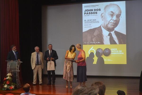 Obra de Onésimo Teotónio Almeida vencedora do prémio John Dos Passos 2019