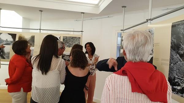 """Paula Cabaço marcou presença na inauguração da Exposição """"Imagens e Memórias do concelho de São Vicente"""""""