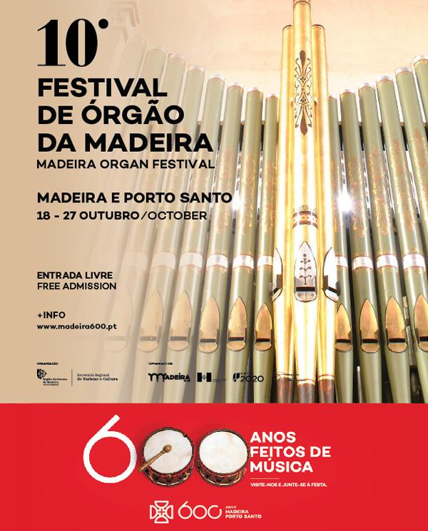 10º Festival de Órgão da Madeira