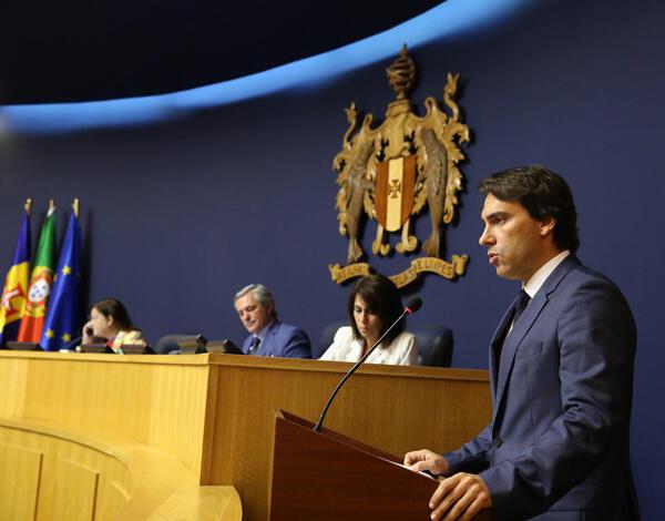 Pedro Fino apresentou o Programa da Secretaria Regional de Equipamentos e infraestruturas