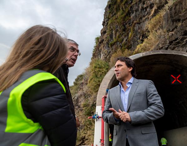 Trabalhos já estão definidos para o túnel da Tabua, que deverá reabrir esta quinta-feira