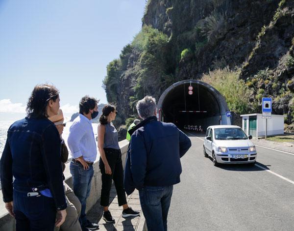 Túnel da Tabua reabriu hoje, 6 de junho