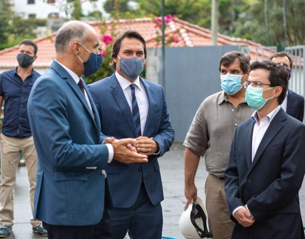 Reabilitação da Escola Básica com PE do Porto da Cruz finalizada  em setembro