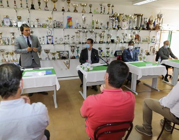 """Pedro Fino enaltece papel do Juventude de Gaula """"na comunidade, educação e formação de jovens atletas"""""""