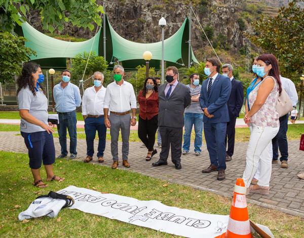 Pedro Fino desafia população a desfrutar de espaço de qualidade e congratula dinamismo do Centro Desportivo da Madeira
