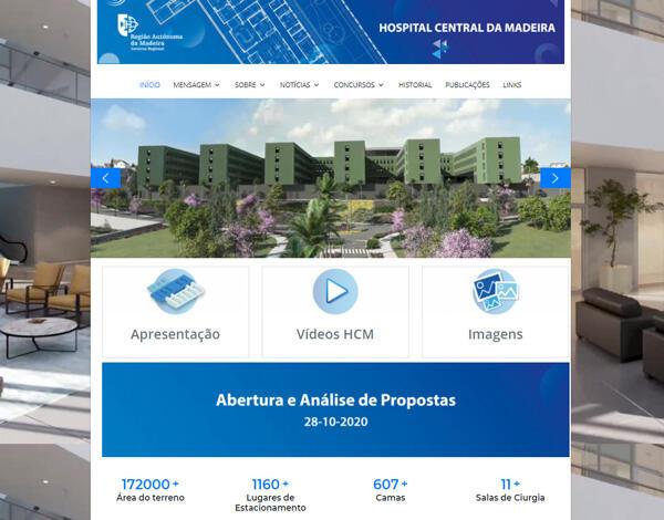 Microsite sobre Hospital Central da Madeira já está disponível