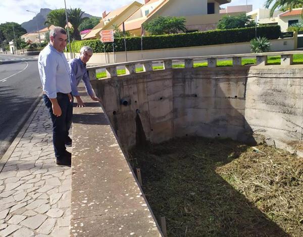 Conservação de linhas de água no Porto Santo para prevenir época de chuvas