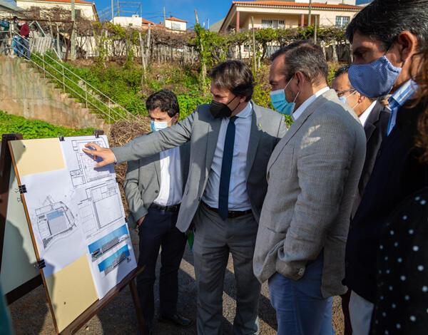 Já está no terreno a execução de infraestruturas do Pavilhão do Estreito de Câmara de Lobos