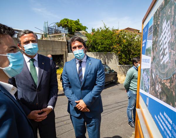 Obra do Hospital Central da Madeira já está no terreno