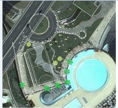 Região constrói polidesportivo em Santa Cruz