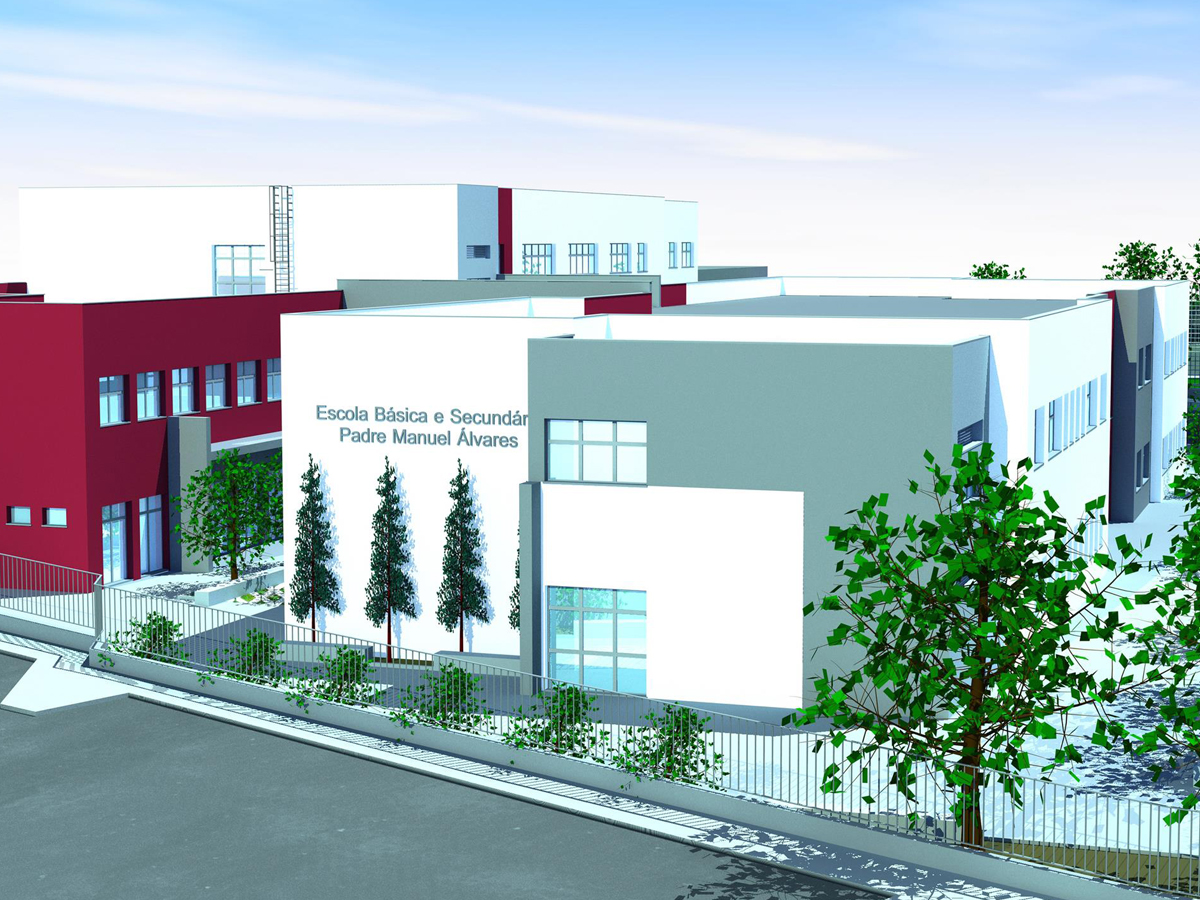 Luz verde para as obras da nova Escola da Ribeira Brava