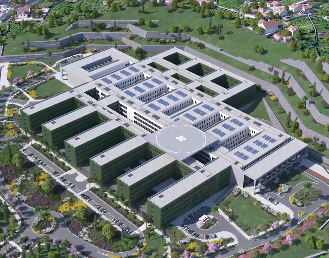 Governo Regional lança concurso para fiscalização e coordenação da obra do novo Hospital