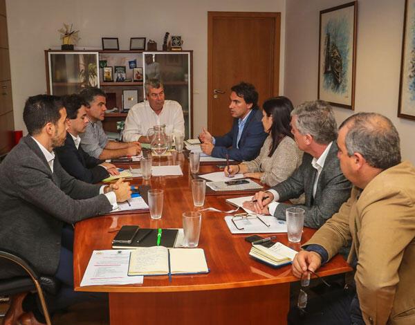 Pedro Fino realizou visita de trabalho ao Porto Santo