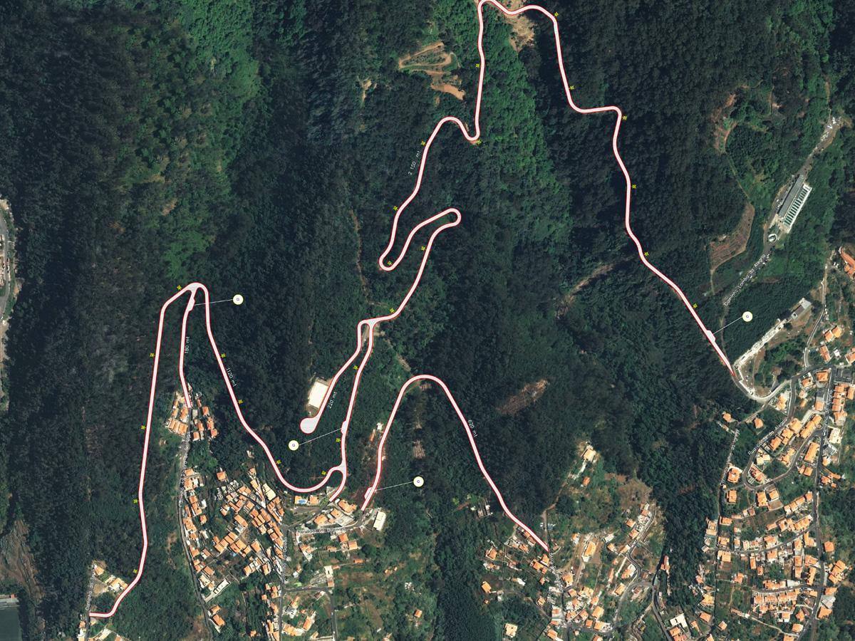 Nova estrada nas zonas altas de São Roque