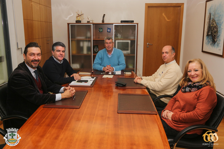 Reunião com Câmara do Porto Santo